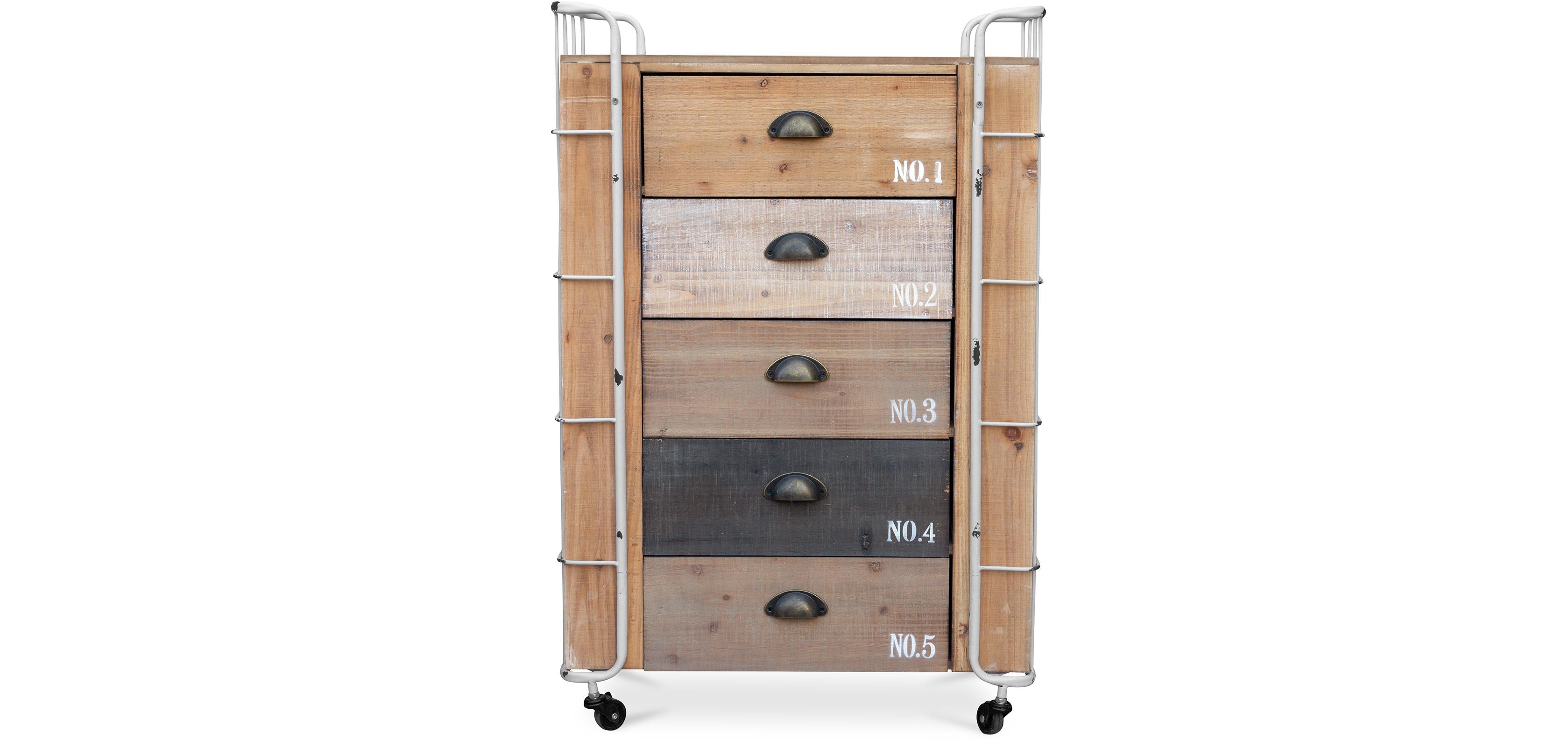 industrial kommode aus holz. Black Bedroom Furniture Sets. Home Design Ideas