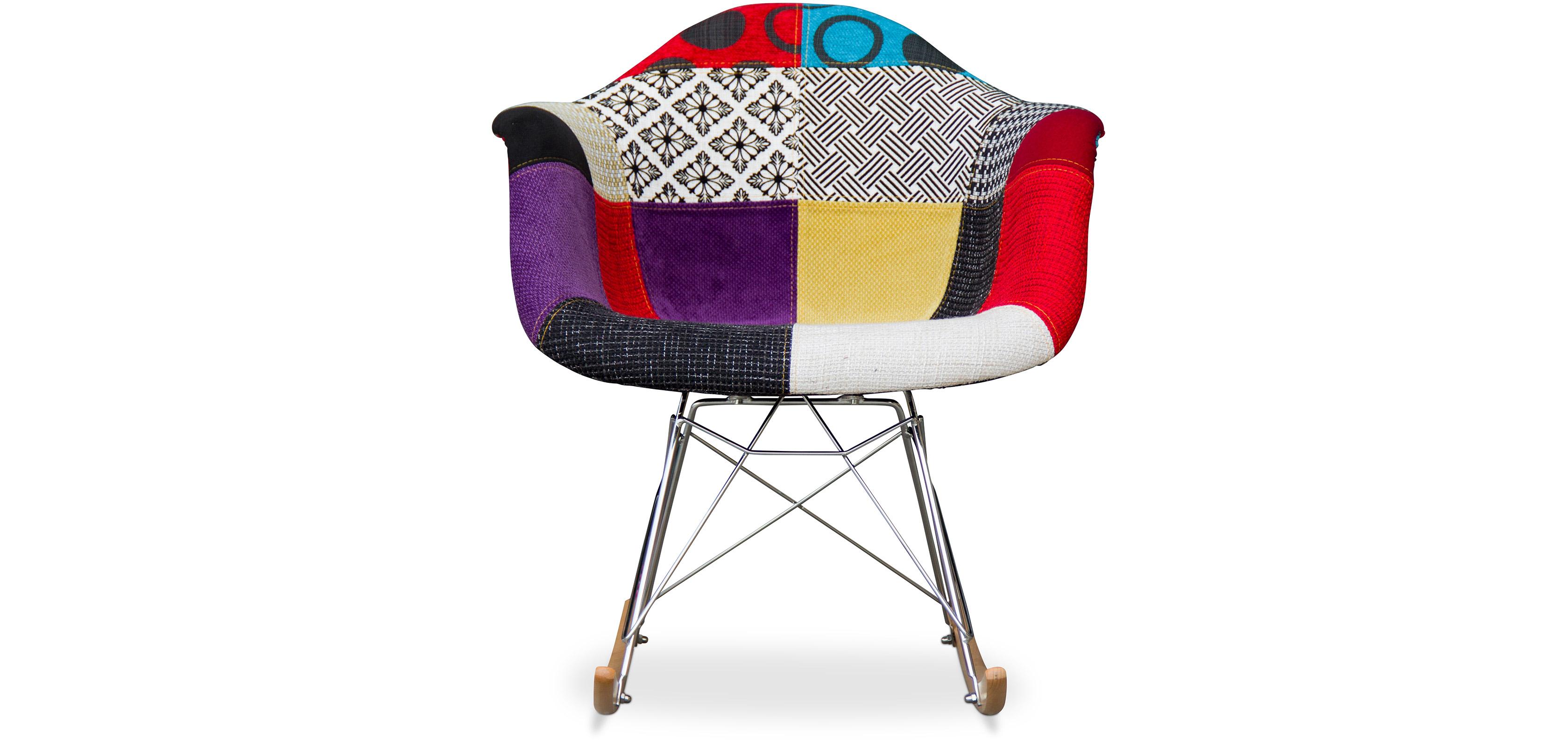 rar stuhl charles eames patchwork style. Black Bedroom Furniture Sets. Home Design Ideas