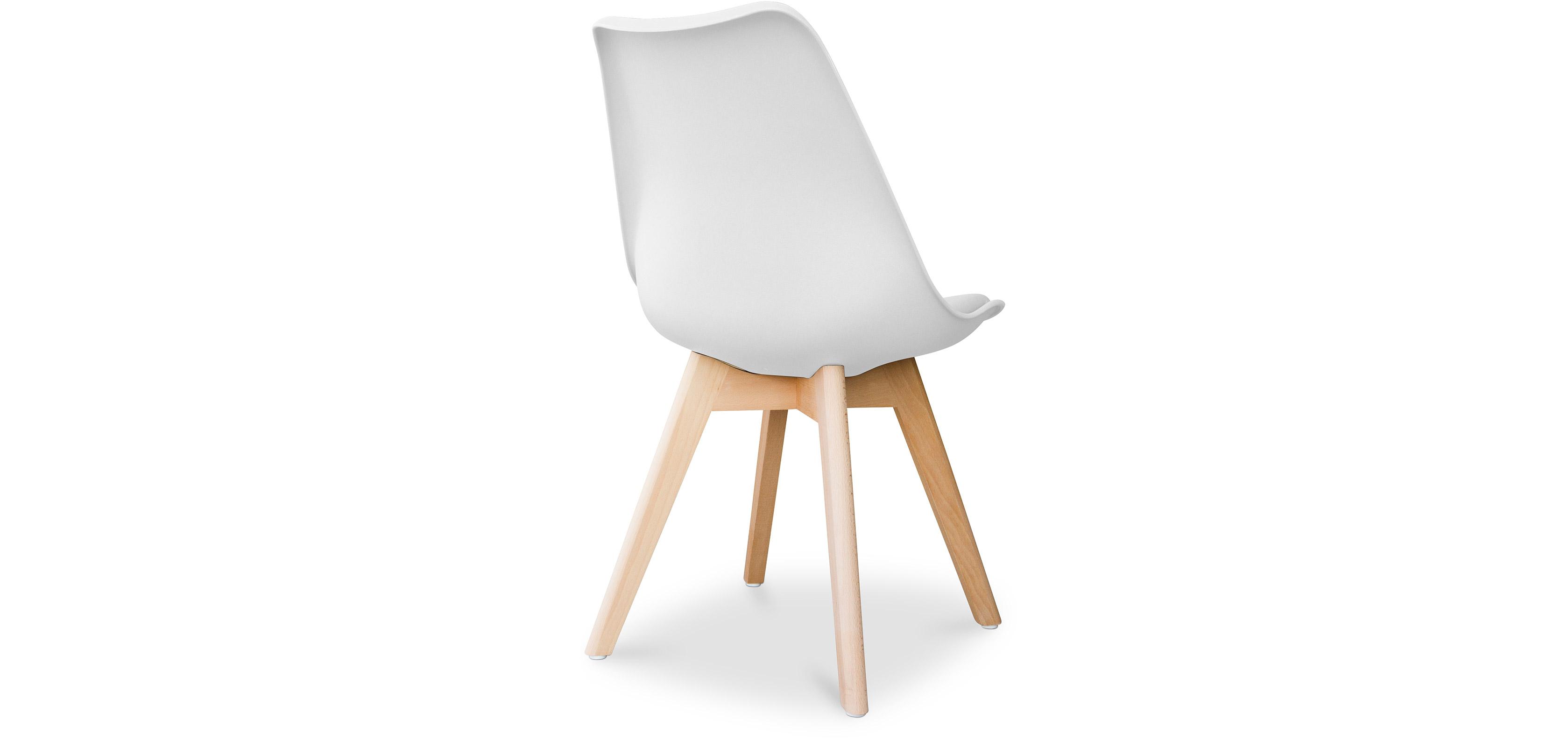 geneva stuhl mit kissen skandinavisches design kunststoff. Black Bedroom Furniture Sets. Home Design Ideas