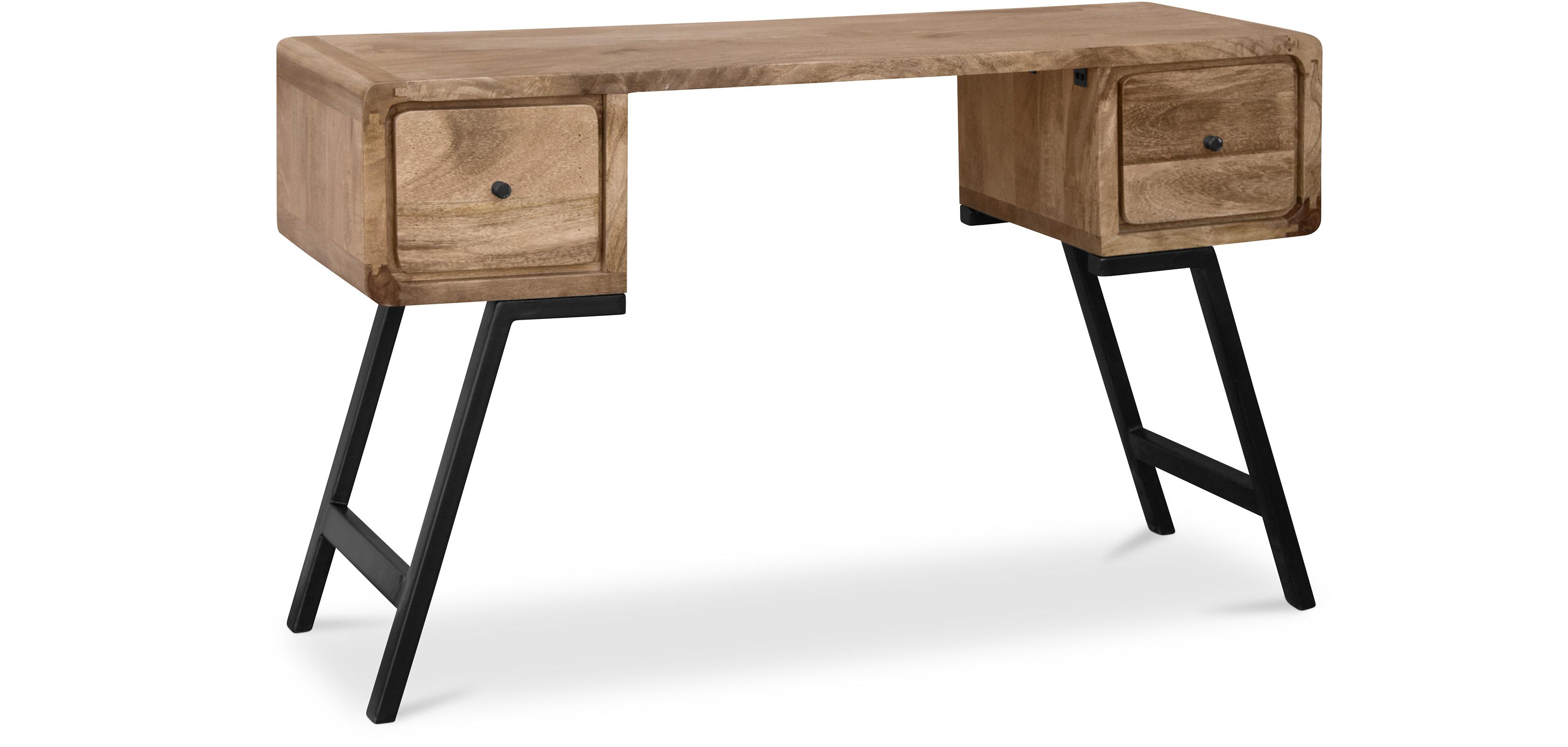 industrial stil designer recyceltes holz schreibtisch jason. Black Bedroom Furniture Sets. Home Design Ideas