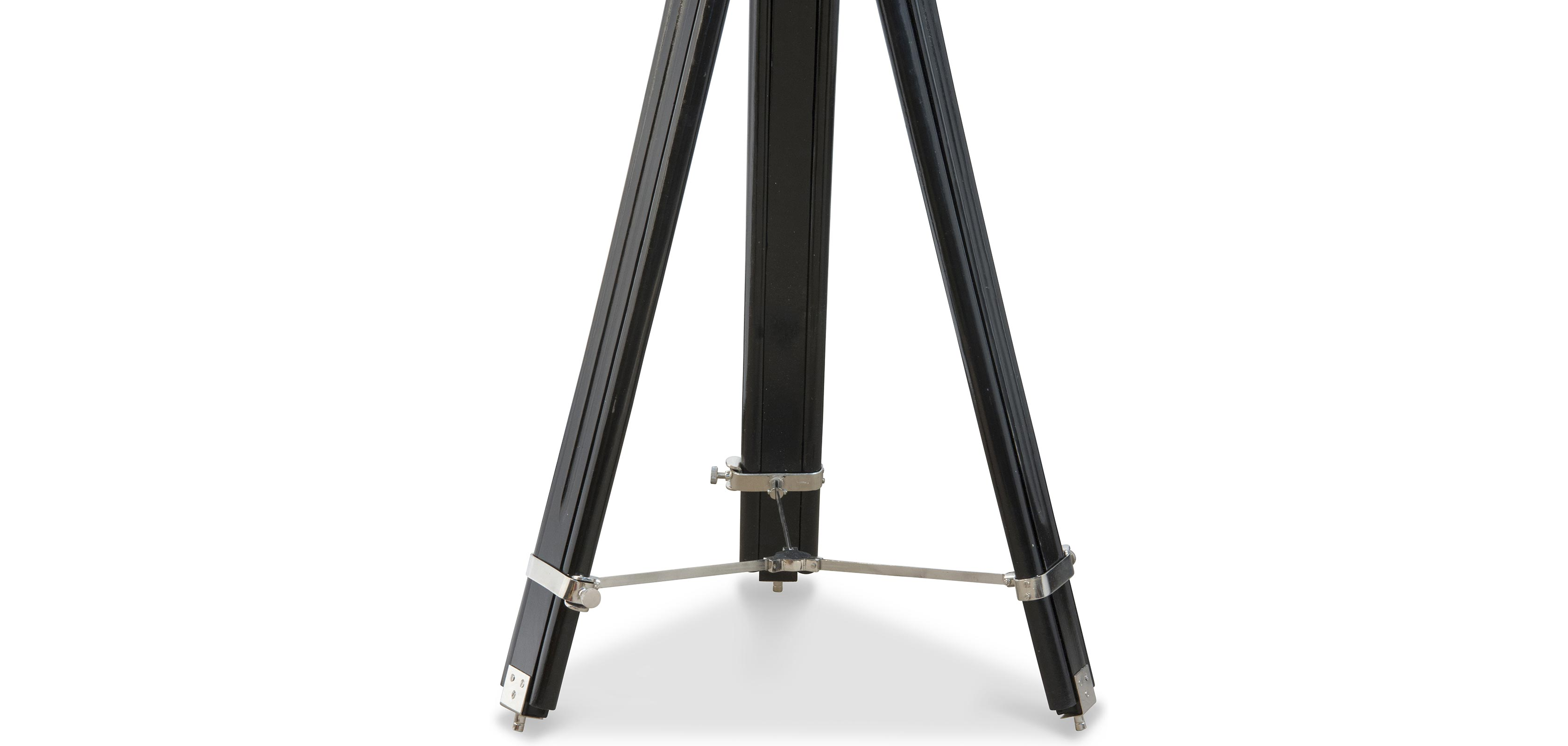 vintage stativ projektor stehlampe stahl holz. Black Bedroom Furniture Sets. Home Design Ideas
