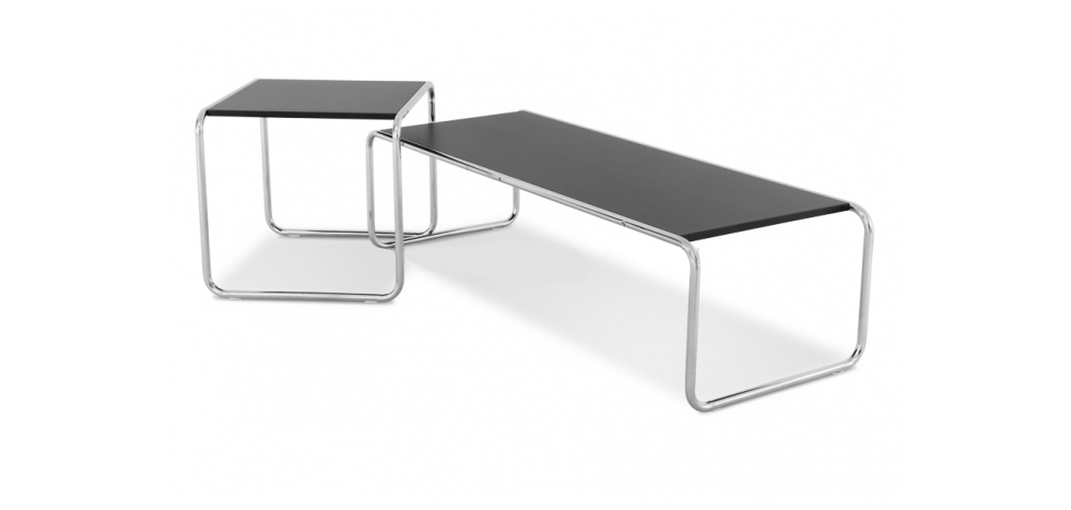 Special edition laccio couchtisch naturholz marcel breuer for Couchtisch naturholz