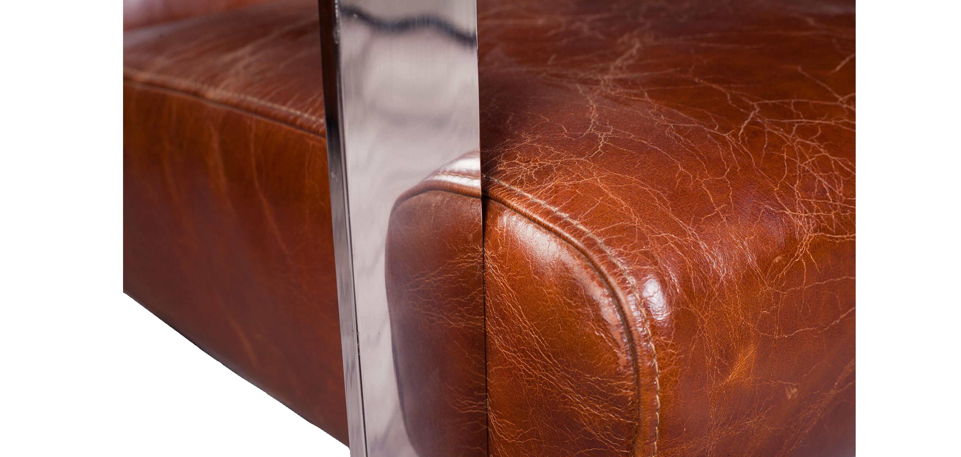 design sessel churchill lounge hochwertiges leder. Black Bedroom Furniture Sets. Home Design Ideas