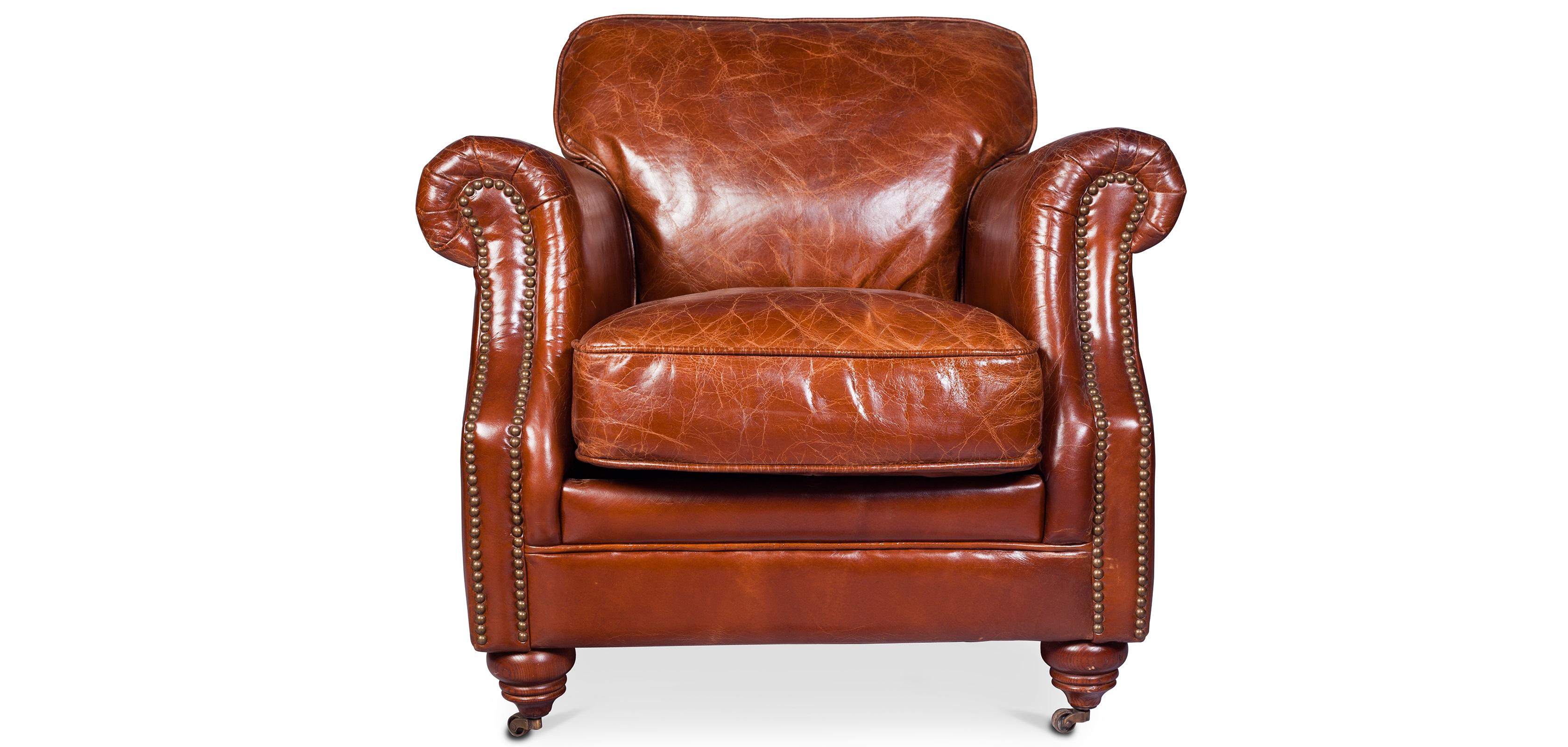 vintage sessel lounge hochwertiges leder. Black Bedroom Furniture Sets. Home Design Ideas