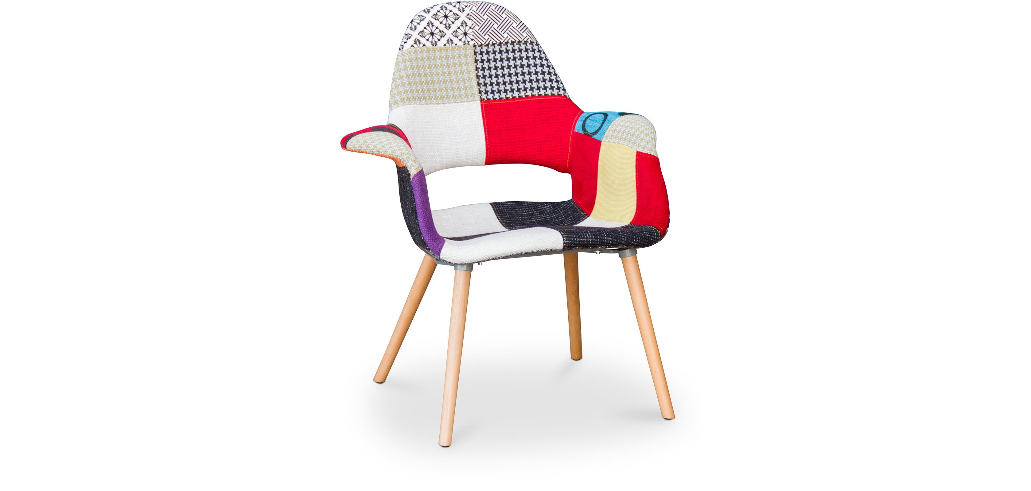 organic skandinavisches design stuhl und eero saarinen patchwork. Black Bedroom Furniture Sets. Home Design Ideas
