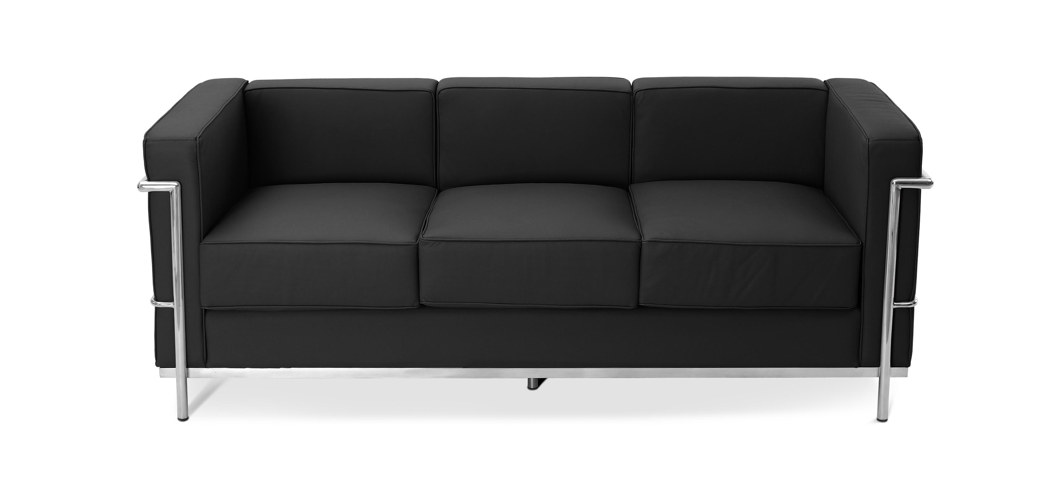 design sofa kart2 dreisitzer hochwertiges leder. Black Bedroom Furniture Sets. Home Design Ideas