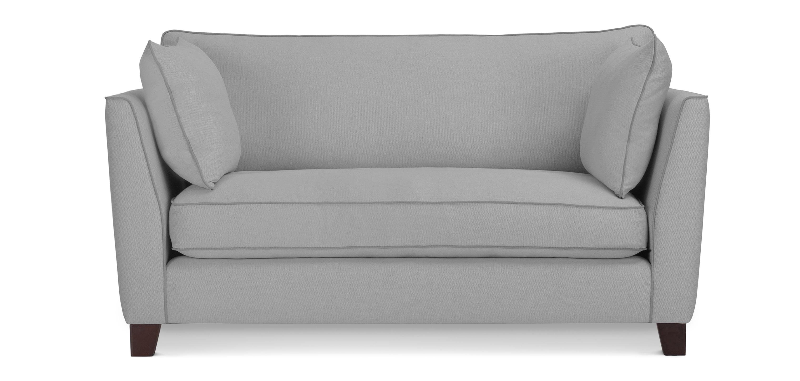 Skandinavisches Design Wohnzimmer-Sofa - Zweisitzer - Stoff
