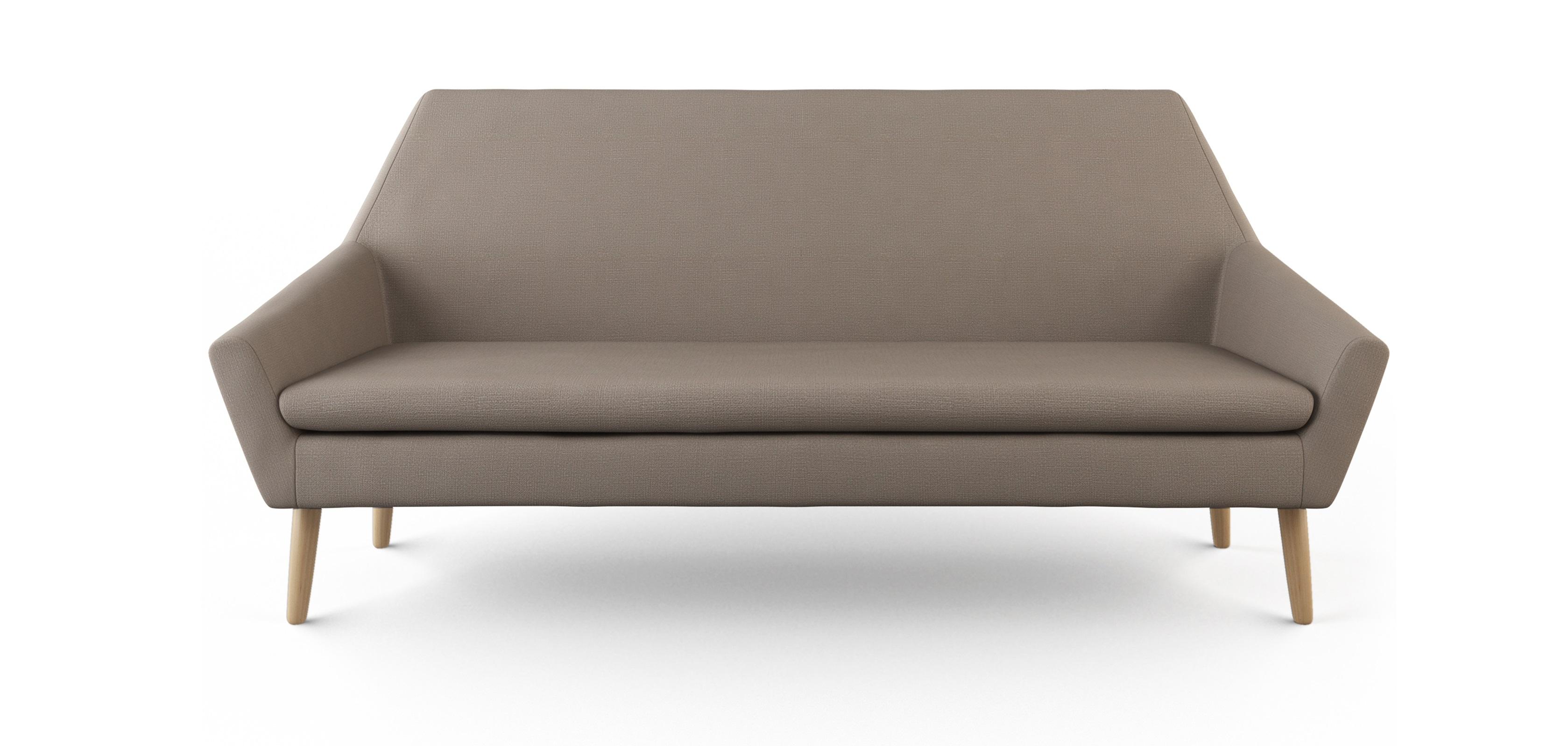 Skandinavisches design sofa 2 Sitzer stoff