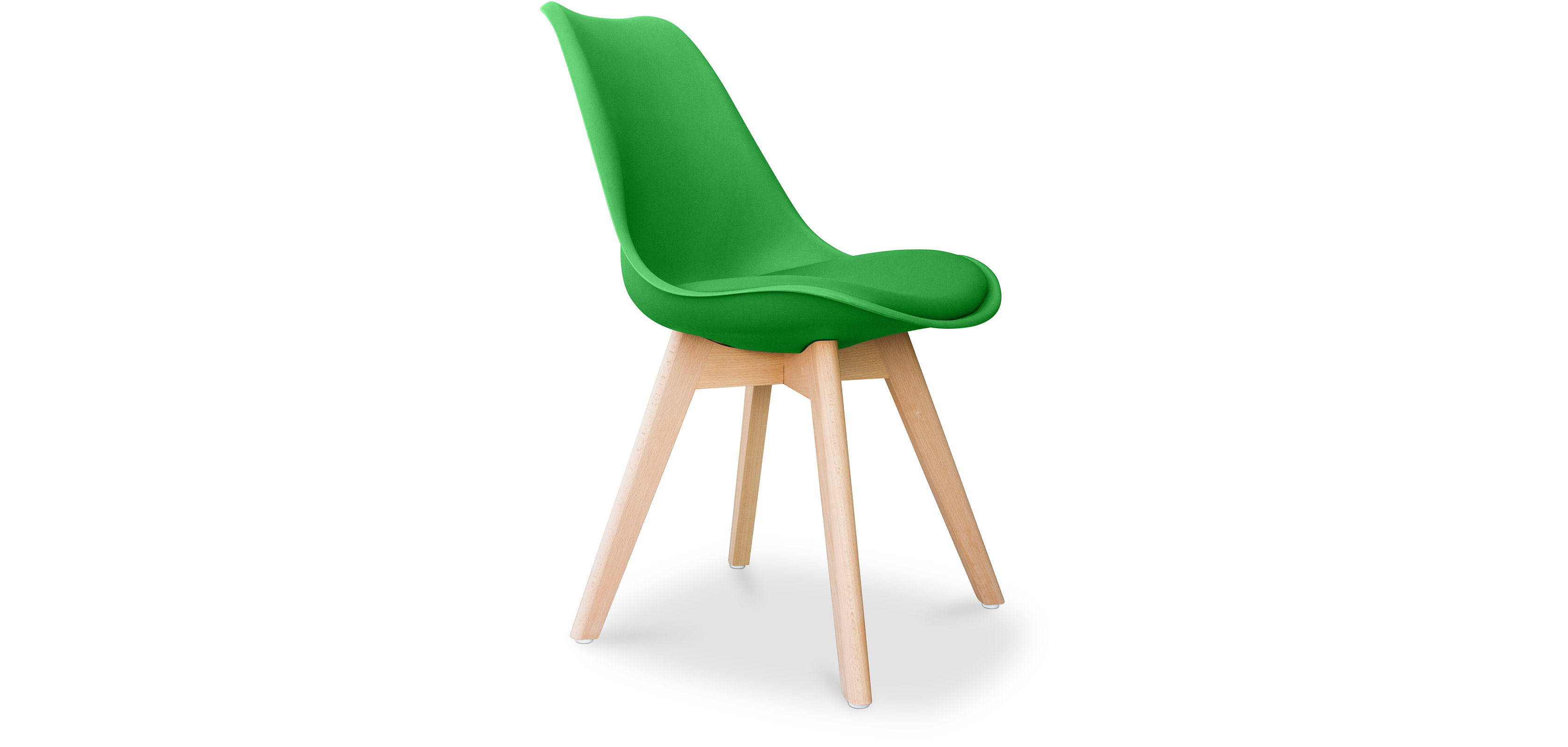 dsw stuhl mit kissen skandinavisches design charles eames style. Black Bedroom Furniture Sets. Home Design Ideas