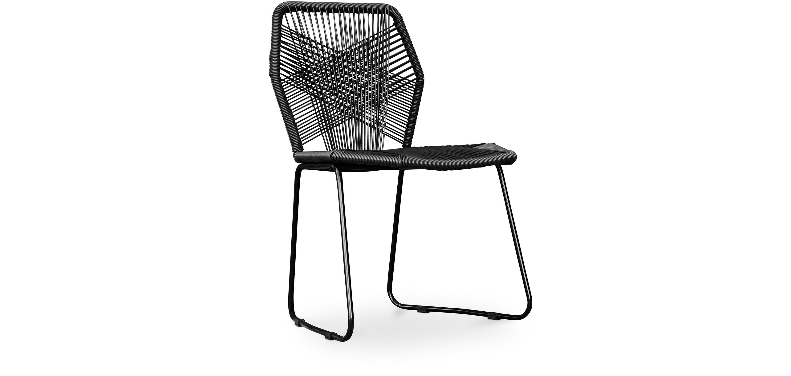 gartenstuhl tropicalia patricia urquiola style schwarze beine. Black Bedroom Furniture Sets. Home Design Ideas