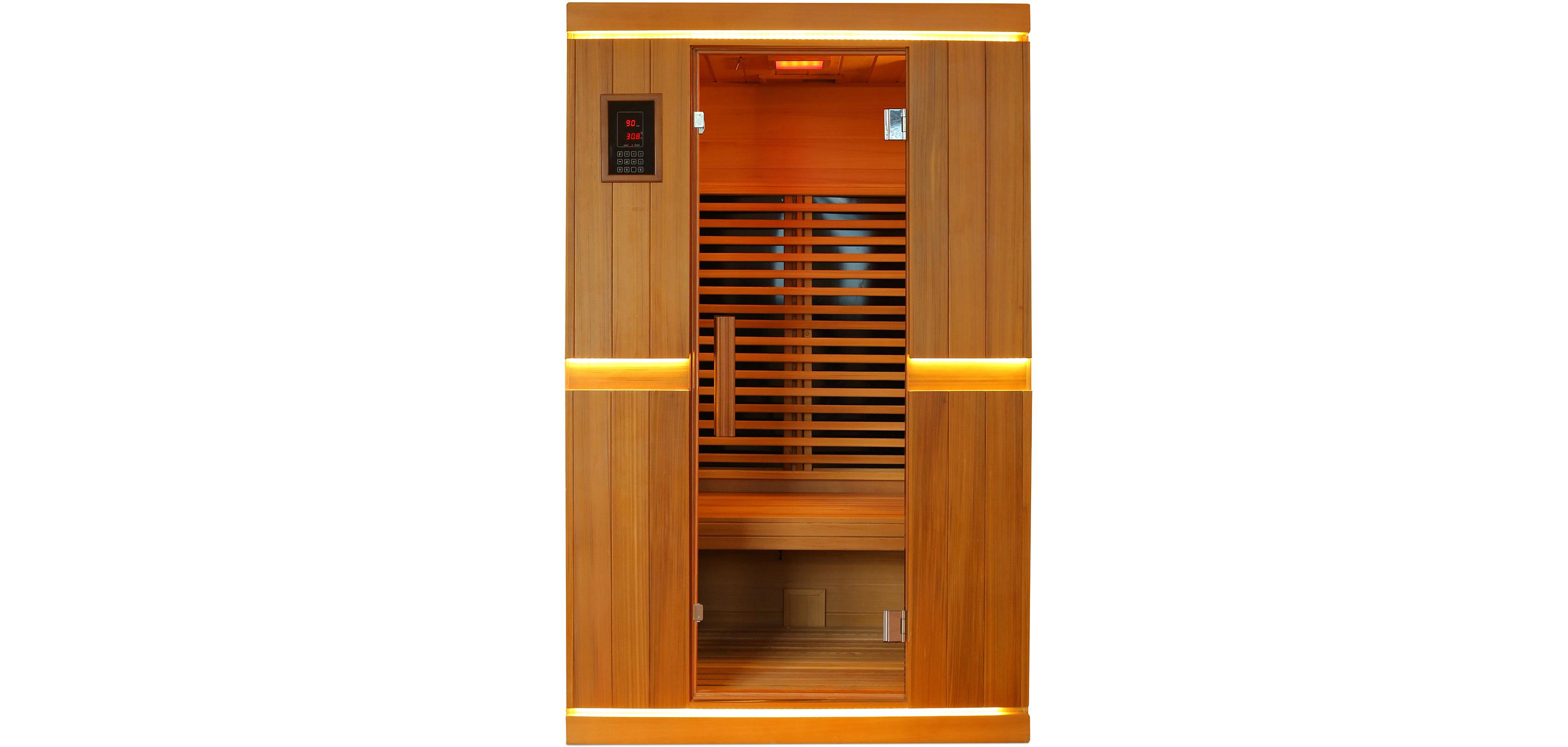 infrarot sauna f r 2 personen. Black Bedroom Furniture Sets. Home Design Ideas