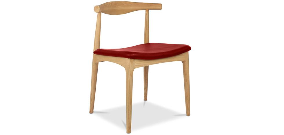 Elb skandinavisches design stuhl cw20 hochwertiges leder for Stuhl skandinavisches design