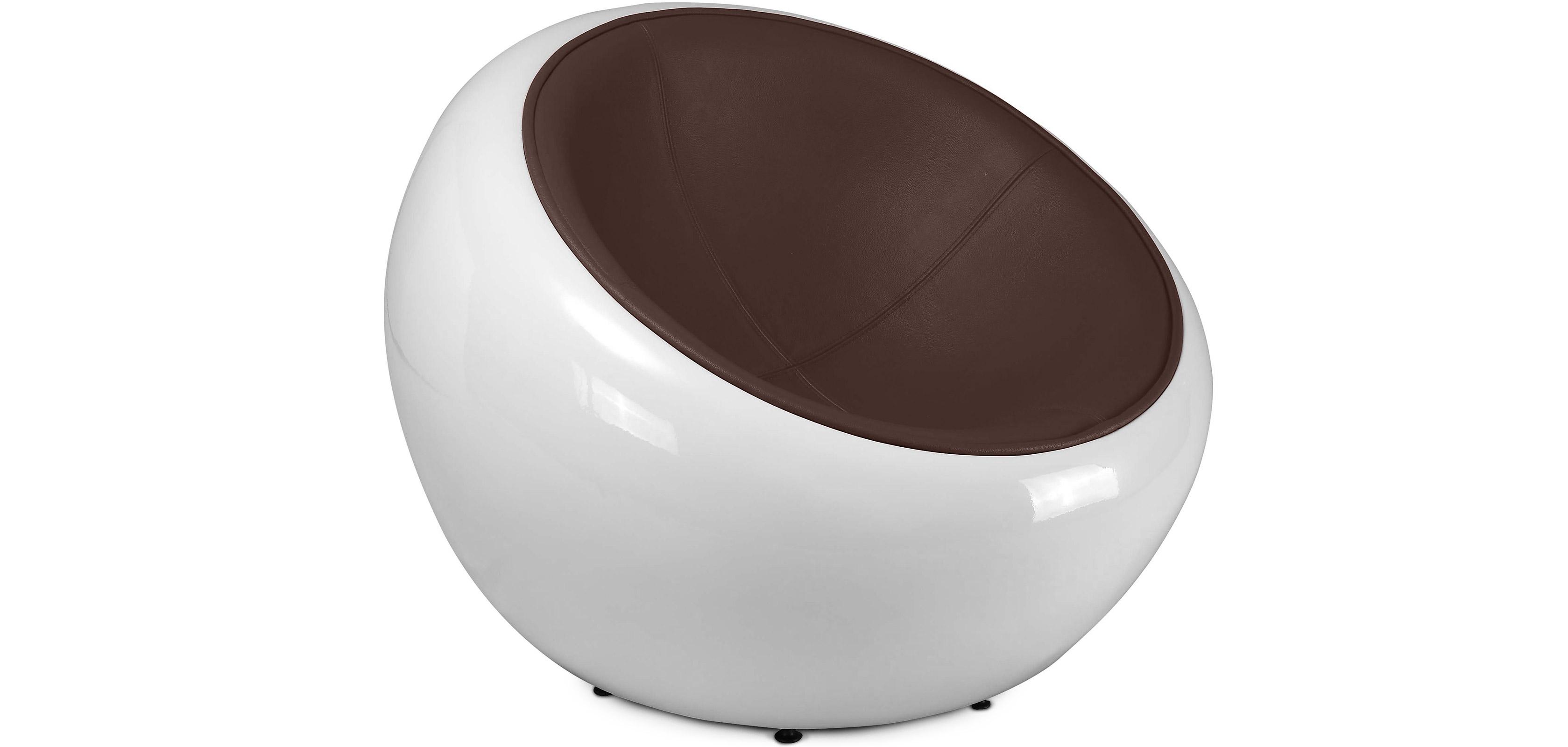 egg pod ball sessel eero aarnio hochwertiges leder. Black Bedroom Furniture Sets. Home Design Ideas
