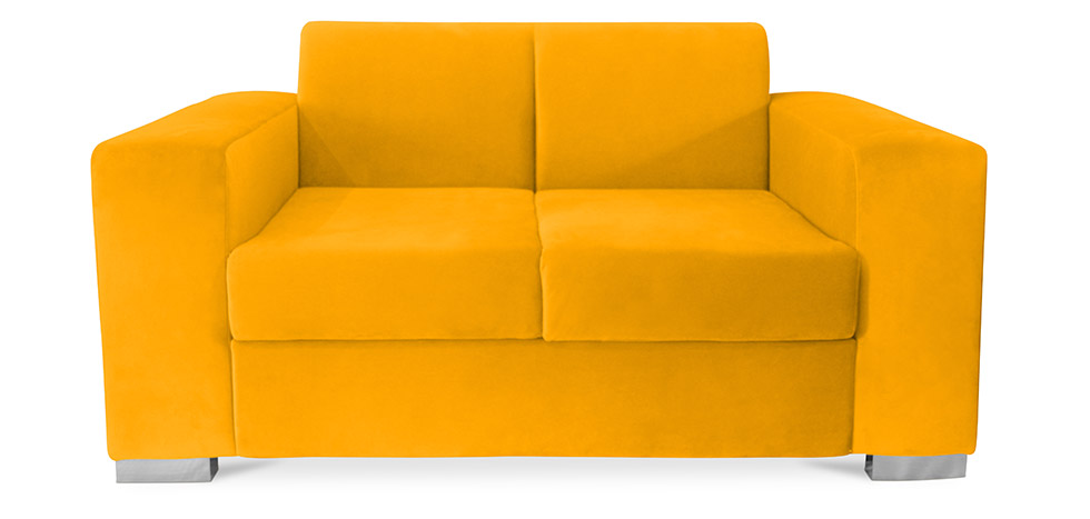 minimalistisches 2 sitzer sofa niedrig relax. Black Bedroom Furniture Sets. Home Design Ideas