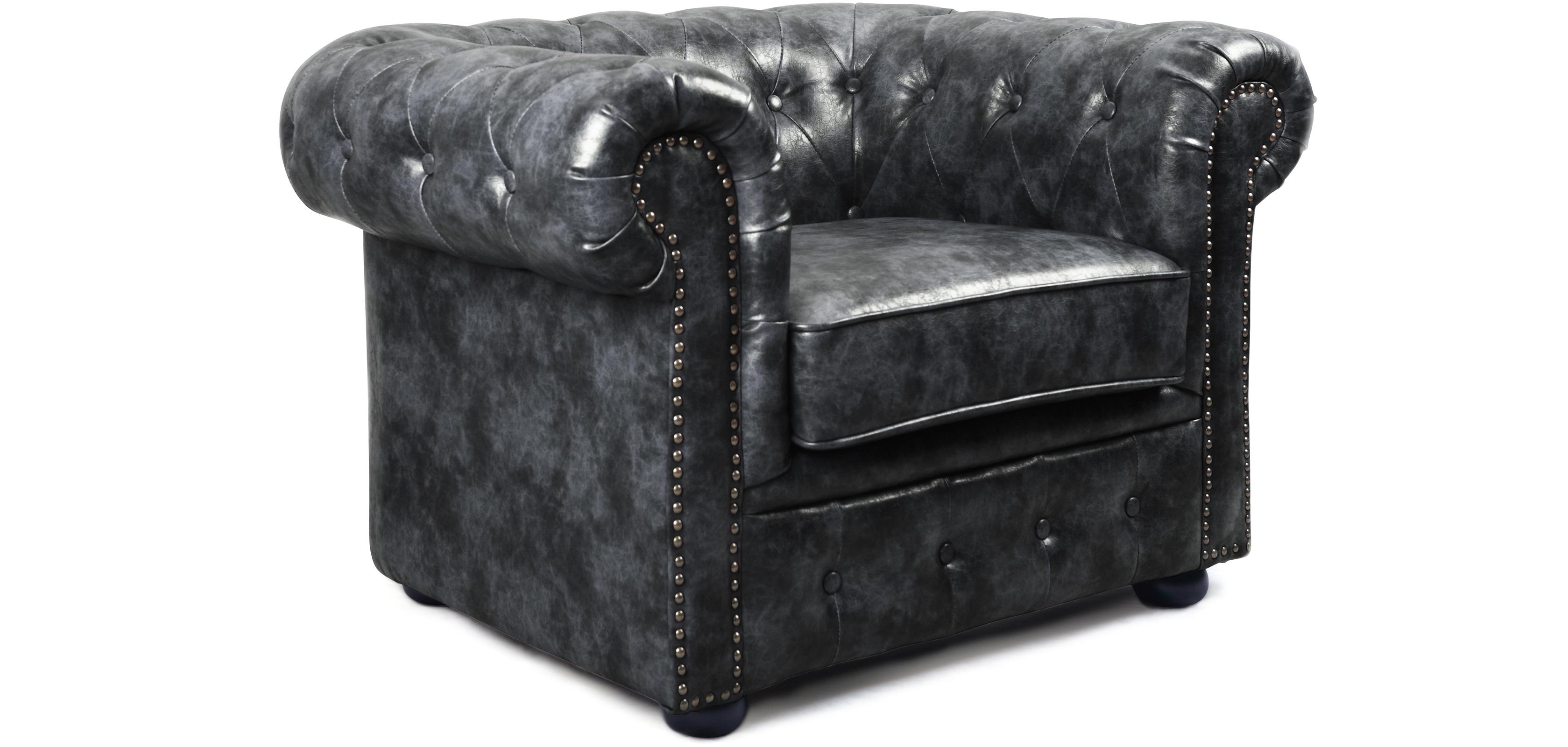 vintage chesterfield sessel hochwertiges leder. Black Bedroom Furniture Sets. Home Design Ideas