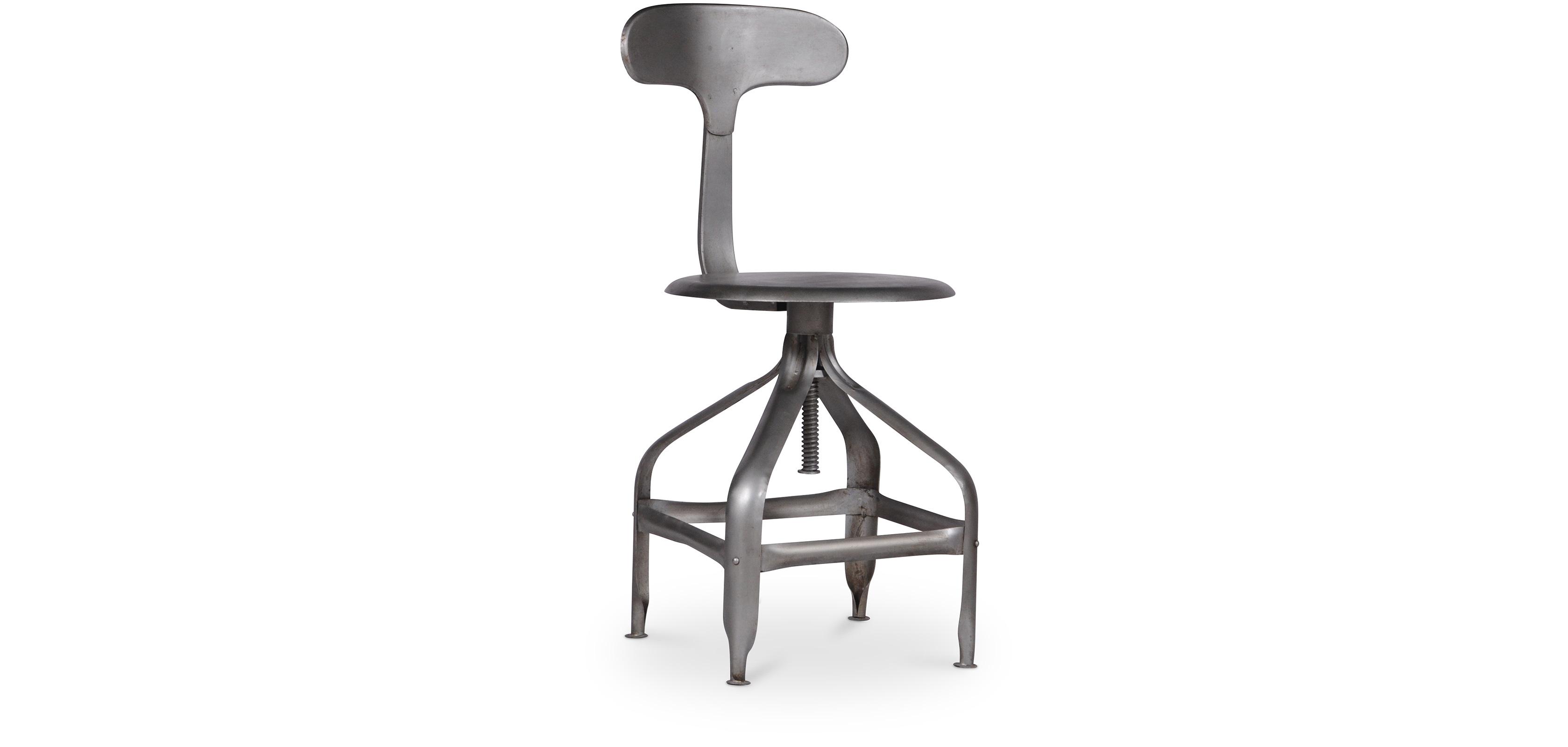 Industrial stuhl metall for Design stuhl metall