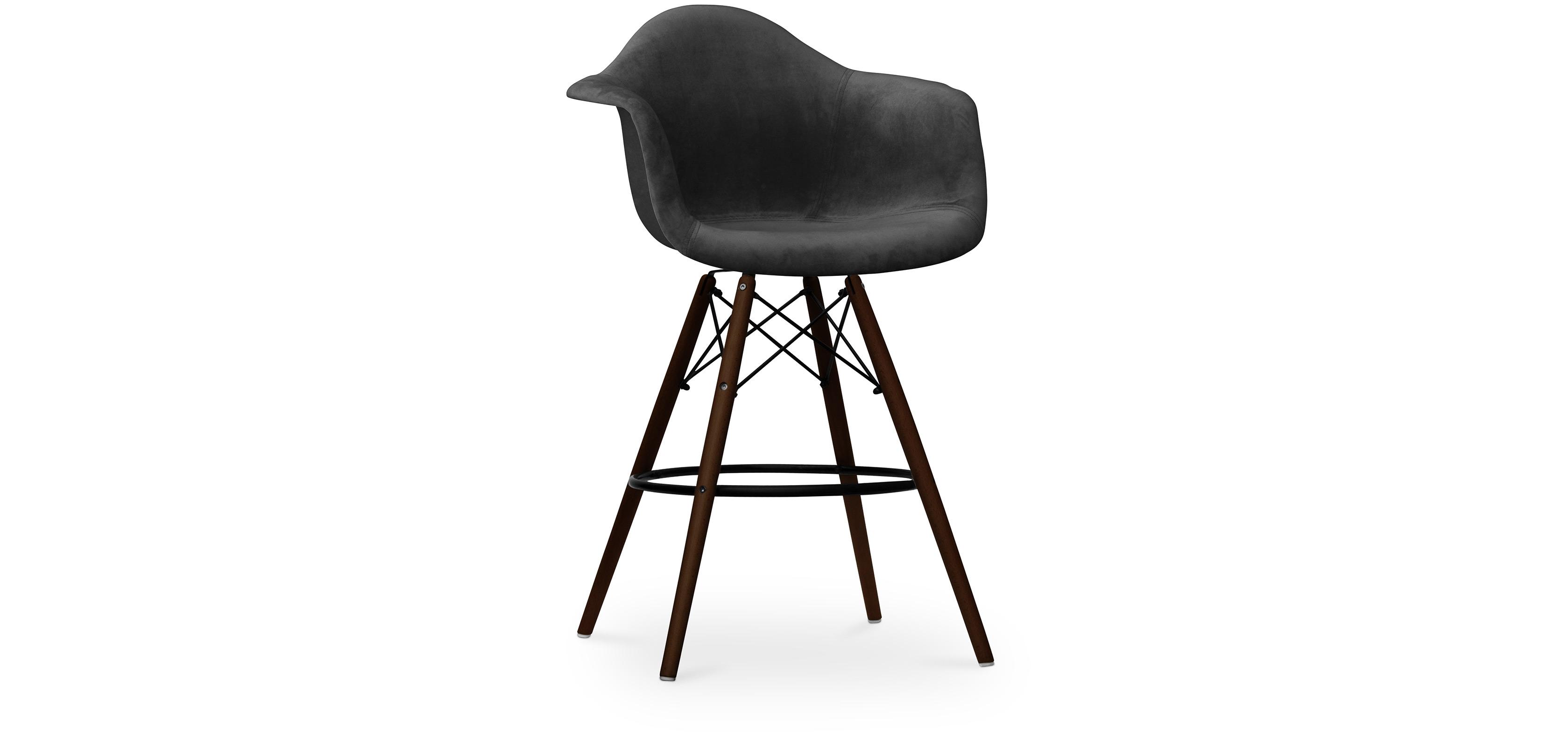 dunkle stuhlbeine daw charles eames barhocker stoff. Black Bedroom Furniture Sets. Home Design Ideas