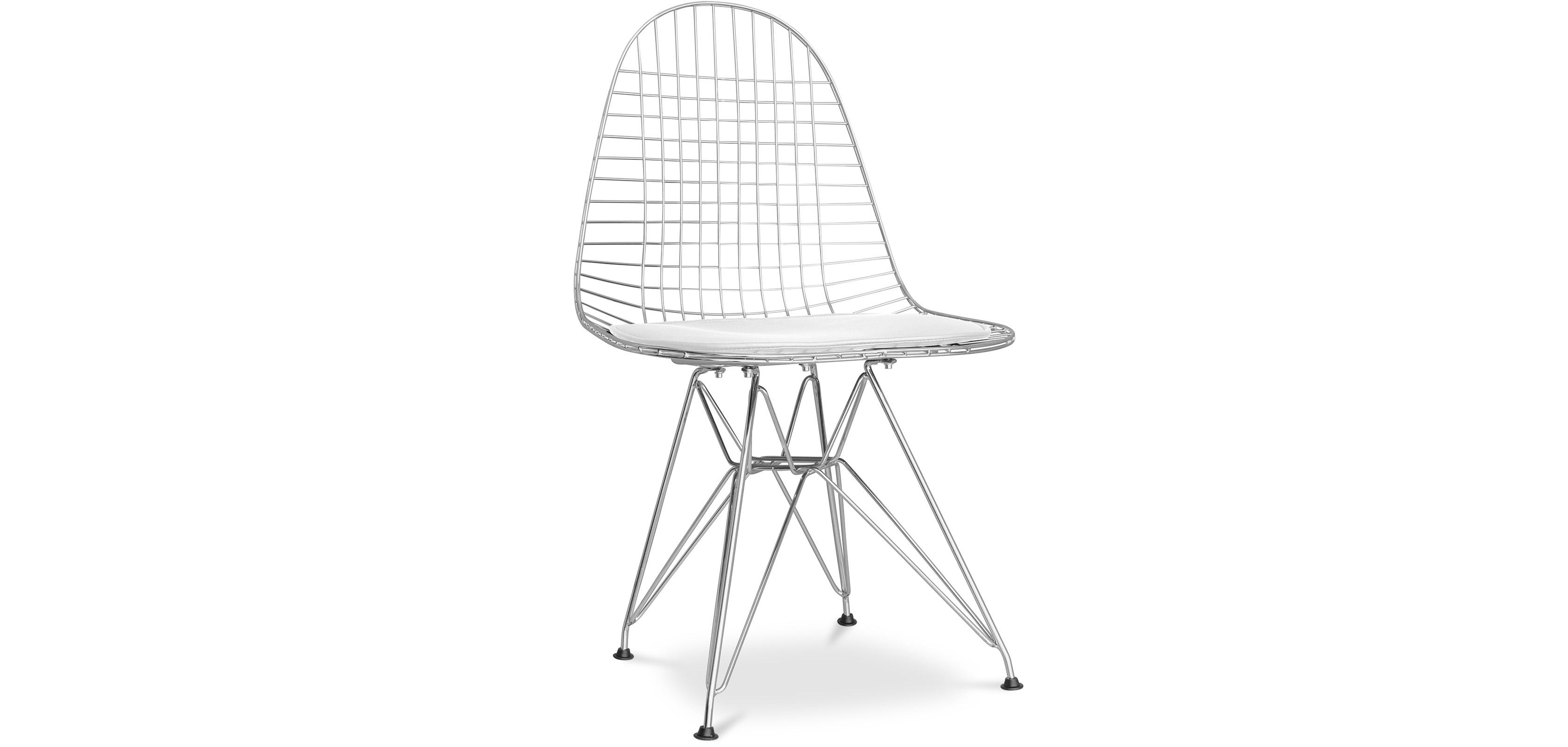 wire dkr stuhl charles eames style. Black Bedroom Furniture Sets. Home Design Ideas